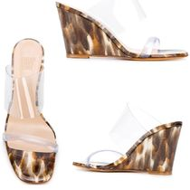 MARYAM NASSIR ZADEH Open Toe Leather Heeled Sandals