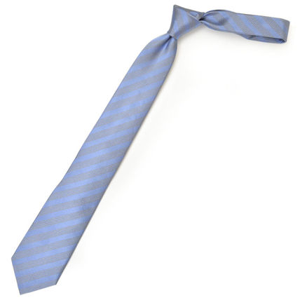Stripes Silk Tiepin Bridal Ties