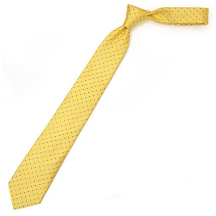 Dots Silk Tiepin Bridal Ties