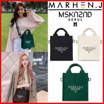 MSKN2ND Casual Style Unisex Street Style 3WAY Hip Packs