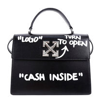 Off-White Leather Totes