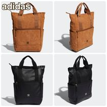 adidas Casual Style Suede Faux Fur 2WAY Plain Office Style