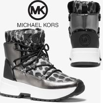 Michael Kors Platform Casual Style Other Animal Patterns
