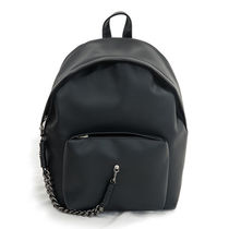 SAMO ONDOH Casual Style Street Style Chain Backpacks