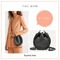 The Row Casual Style 2WAY Plain Leather Purses Elegant Style