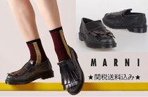 MARNI Round Toe Rubber Sole Casual Style Unisex Collaboration