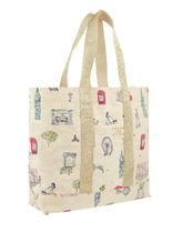 Accessorize Casual Style Canvas Street Style Bag in Bag A4 Totes