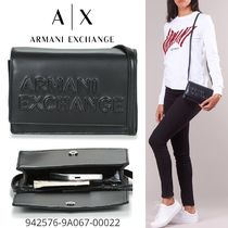 A/X Armani Exchange Casual Style 3WAY Party Style Elegant Style Crossbody