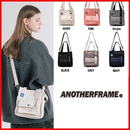 Casual Style Unisex Street Style 2WAY Satchels