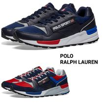 Ralph Lauren Blended Fabrics Street Style Plain Leather Sneakers