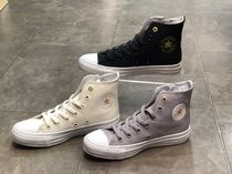 CONVERSE ALL STAR Star Casual Style Unisex Street Style Plain Glitter Logo