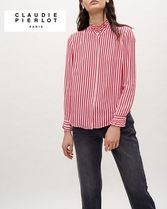 CLAUDIE PIERLOT Long Sleeves Office Style Shirts & Blouses