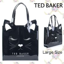 TED BAKER Casual Style A4 Office Style Elegant Style Totes