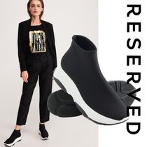 RESERVED Platform Casual Style Street Style Plain