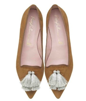 Moccasin Rubber Sole Casual Style Suede Leather