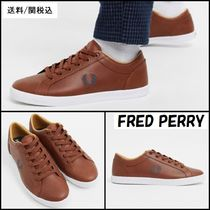 FRED PERRY Plain Leather Sneakers