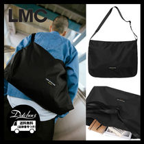LMC Casual Style Unisex Street Style A4 Shoulder Bags