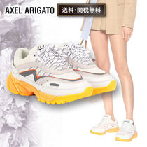 AXEL ARIGATO Plain Elegant Style Low-Top Sneakers