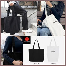 D SQUARED2 Casual Style Canvas Street Style Shoulder Bags