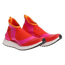 adidas by Stella McCartney Round Toe Rubber Sole Collaboration Low-Top Sneakers