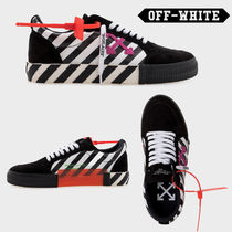 Off-White Unisex Leather Sneakers