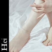 Hei Casual Style Party Style Silver Elegant Style Anklets
