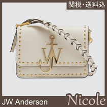 J W ANDERSON Casual Style Plain Leather Party Style Elegant Style