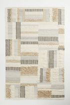 Anthropologie Unisex Blended Fabrics Geometric Patterns Carpets & Rugs