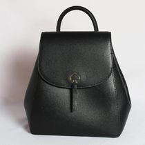 kate spade new york Casual Style Plain Leather Backpacks