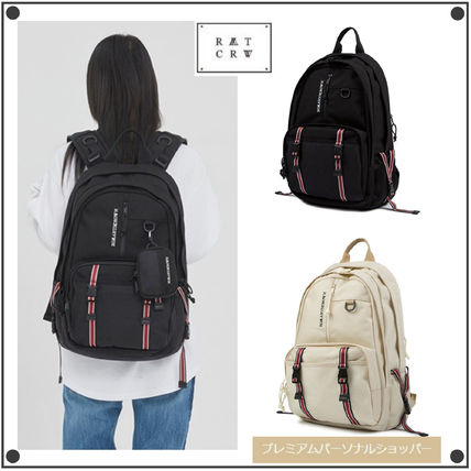 Casual Style Unisex Street Style Collaboration Backpacks