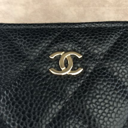 CHANEL MATELASSE Calfskin Long Wallet  Small Wallet Coin Cases