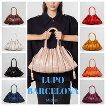 Lupo Barcelona Tassel Plain Leather Party Style Office Style Elegant Style