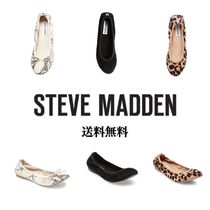 Steve Madden Leopard Patterns Casual Style Suede Party Style Office Style