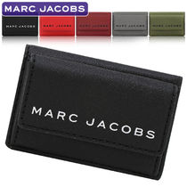 MARC JACOBS PVC Clothing Folding Wallet Small Wallet Logo