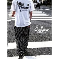 Cookman Tapered Pants Stripes Unisex Street Style Bottoms