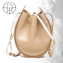 The Row 2WAY Plain Leather Crossbody Logo Shoulder Bags