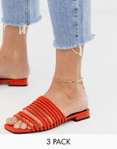 ASOS Casual Style Party Style Brass Elegant Style Co-ord Anklets
