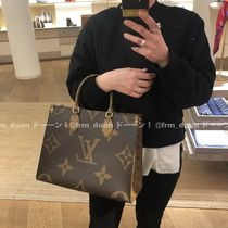 Louis Vuitton Monogram Casual Style Office Style Totes