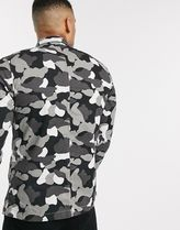 Jack & Jones Camouflage Long Sleeves Shirts