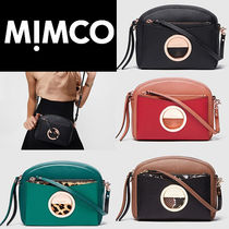 MIMCO Leopard Patterns Casual Style Bi-color Party Style