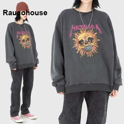 Raucohouse Long Sleeve Long Sleeves Oversized Long Sleeve T-shirt