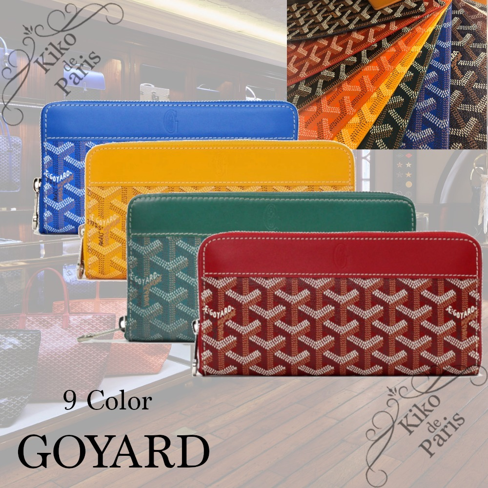 shop goyard wallets & card holders