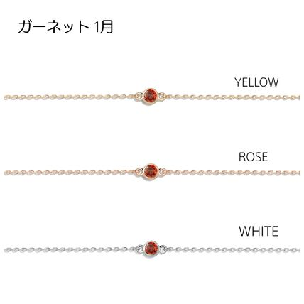 AUrate NewYork Casual Style Chain 14K Gold Elegant Style Anklets