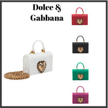 Dolce & Gabbana Plain Shoulder Bags