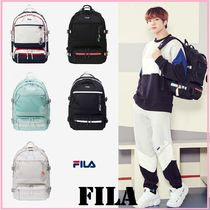 FILA Casual Style Unisex Street Style Collaboration A4 Plain