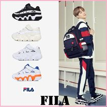 FILA Rubber Sole Casual Style Unisex Street Style Collaboration