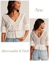 Abercrombie & Fitch Lace Shirts & Blouses