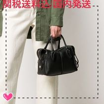 TOD'S Casual Style 2WAY Plain Leather Office Style Elegant Style