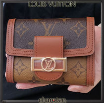 Louis Vuitton MONOGRAM Monogram Unisex Calfskin Canvas Bi-color Leather