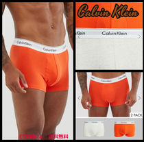 Calvin Klein Plain Cotton Logo Trunks & Boxers